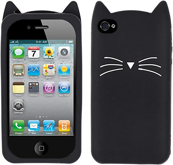 Cats cute case cover for phone iPhones