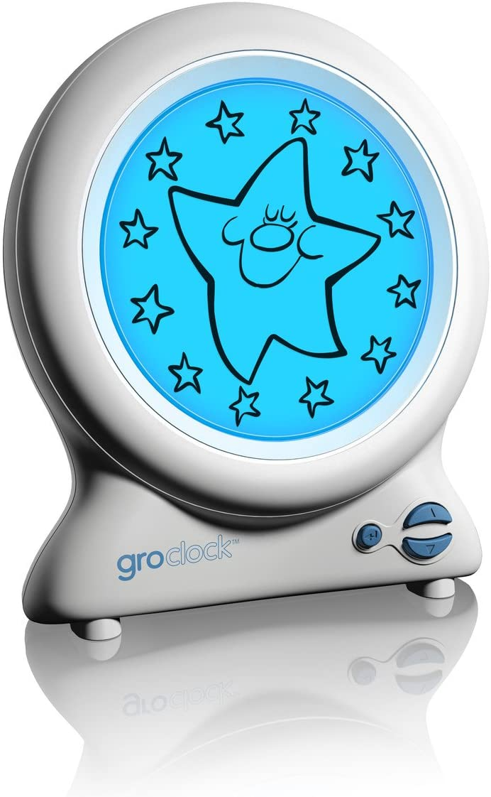 A picture of Gro clock to better elaborate Cool clocks for kids 2020