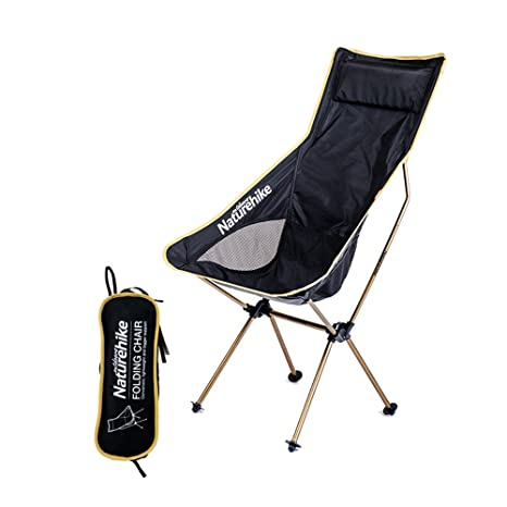 Amazon.com : Tentock Outdoor Foldable Chair Ultralight Camping Beach ...