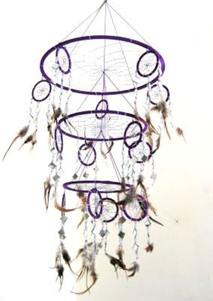 Big Purple Dream Catcher