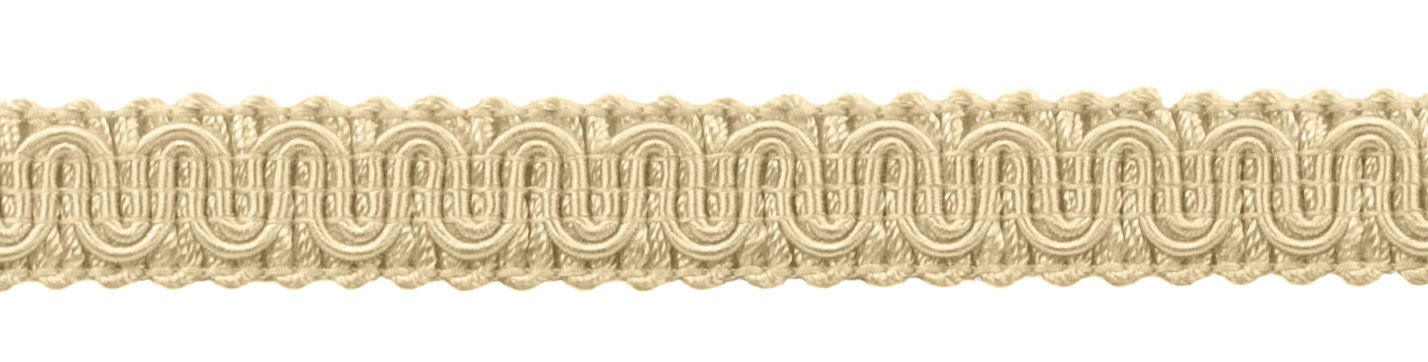 5/8' Basic Trim Decorative Gimp Braid, Style# 0058SG Color: Ivory/Ecru - A2, Sold by The Yard DecoPro