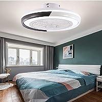 Ventilador De Techo Con Función De Luz, Luz De Techo LED Moderna Lámpara De Techo…