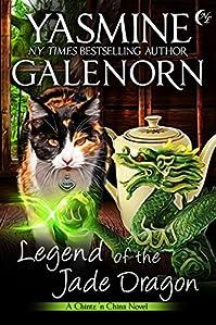 Legend Of The Jade Dragon by Yasmine Galenorn ebook deal