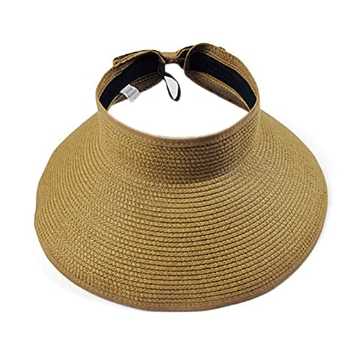 68224ec80 Amazon.com: Opromo Children Girls Beach Sun Visor Foldable Roll up ...