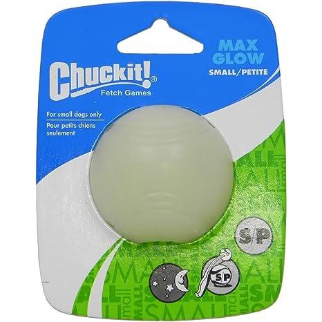 Chuckit. Max Glow - Balón pequeño, pulgada, 1-Pack. Lanzador ...