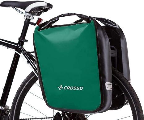 Crosso Dry Big Bolsa para Bicicleta, Verde, 60 l: Amazon.es: Deportes y aire libre