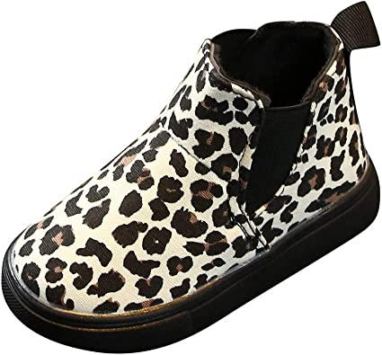 Children/'s Kids Boys Girls Black Leopard Multi Casual Shoes Trainers Sizes 10-5