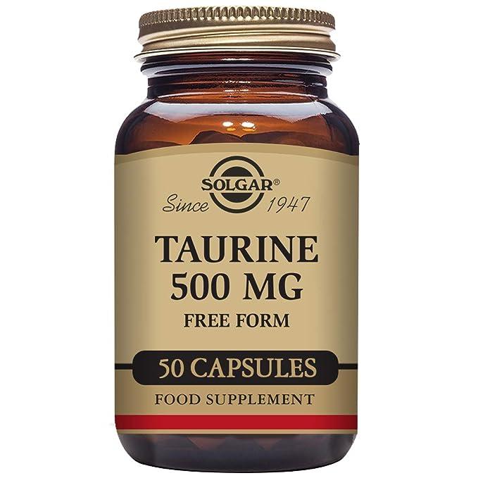 Solgar Taurina de Forma Libre 500 mg - 140 gr: Amazon.es: Salud y cuidado personal