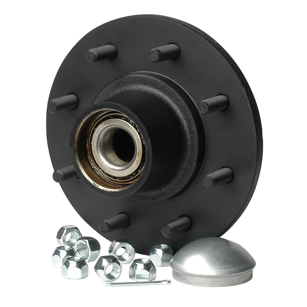 1 - C.E. Smith Trailer Hub Kit - Tapered Spindle - 8x6.5'' Stud - 3,500lb Capacity by CE Smith