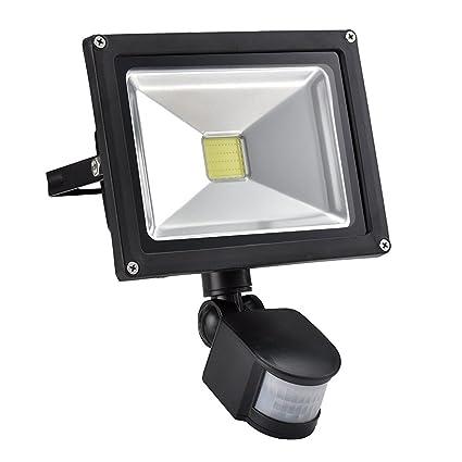 W lite 20w led motion sensor flood lights outdoor pir induction w lite 20w led motion sensor flood lights outdoor pir induction lamp intelligent aloadofball Choice Image