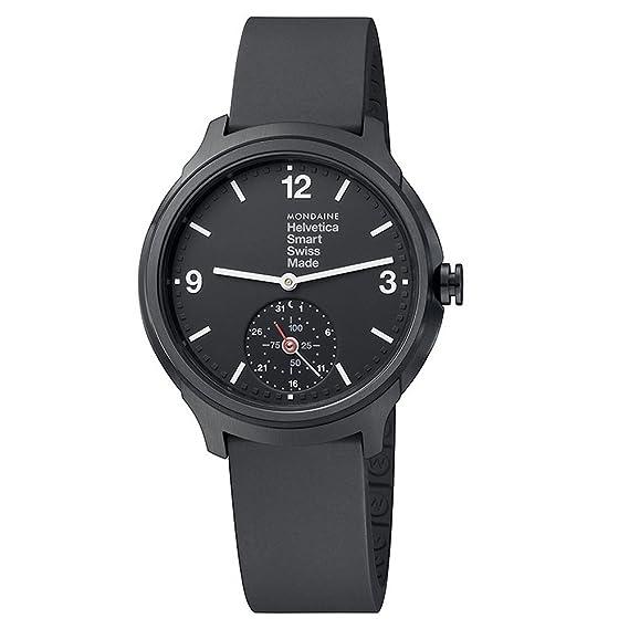 Mondaine Helvetica Smart 44mm MH1.B2S20.RB Reloj de Pulsera ...