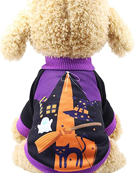Abcsea Ropa para Perros para Mascotas De Halloween, Disfraz De ...