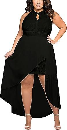 Y Boa Col Rond Jointif Mesh Fendu Dos Nu Robe Noir Femme Mousseline Size1 Amazon Fr Vetements Et Accessoires