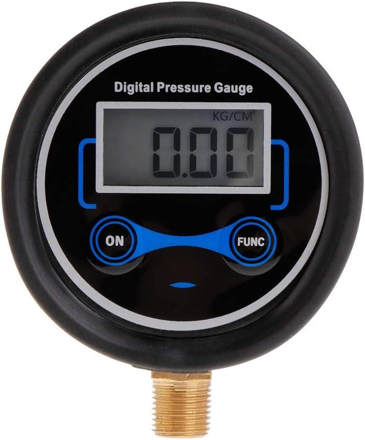 monitor aria PSI William-Lee 0-200PSI Manometro digitale LCD per pneumatici per auto 1//8NPT camion moto pneumatici