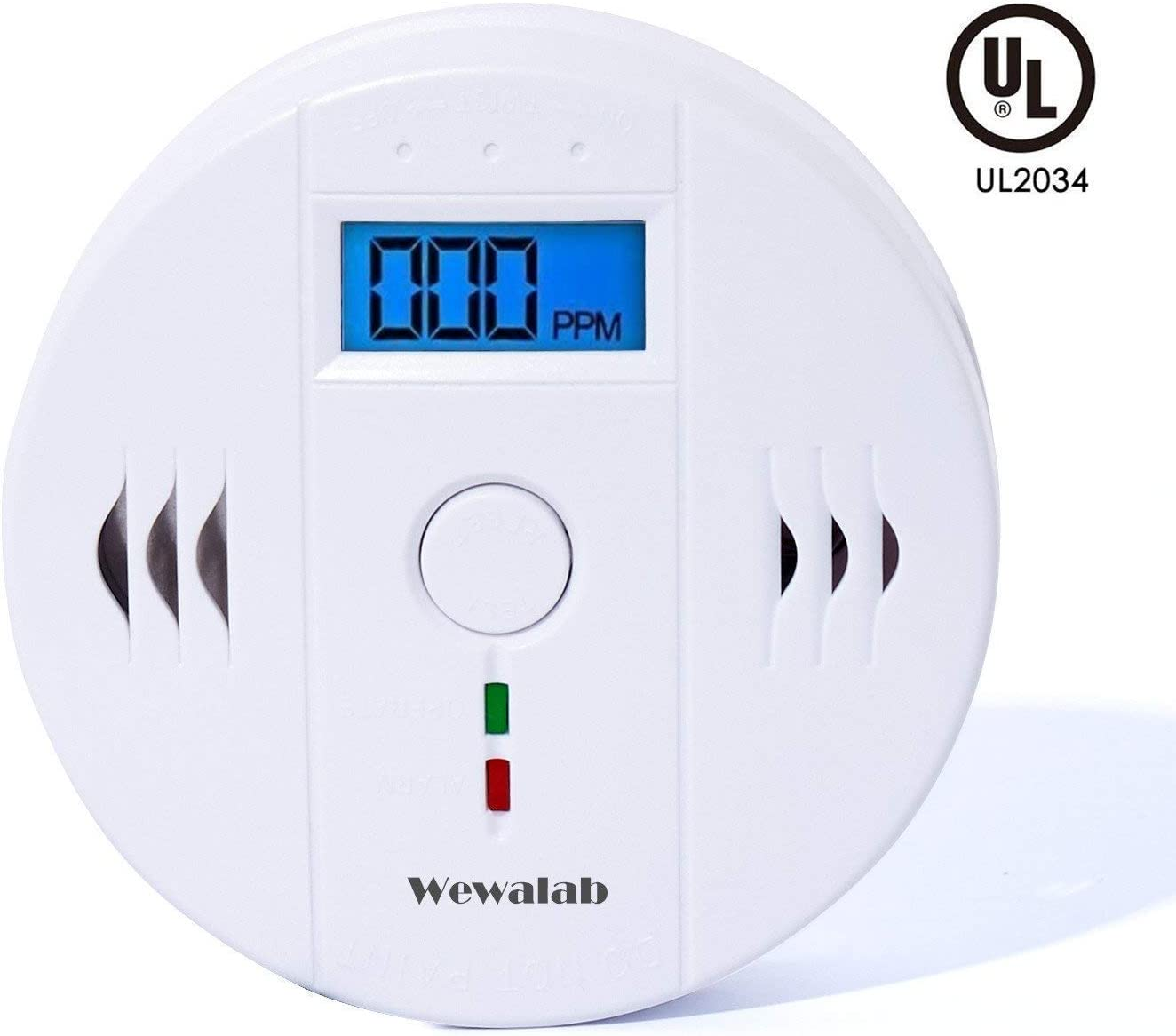 Wewalab Household Tester for Home Use, Alarm LCD Portable Security