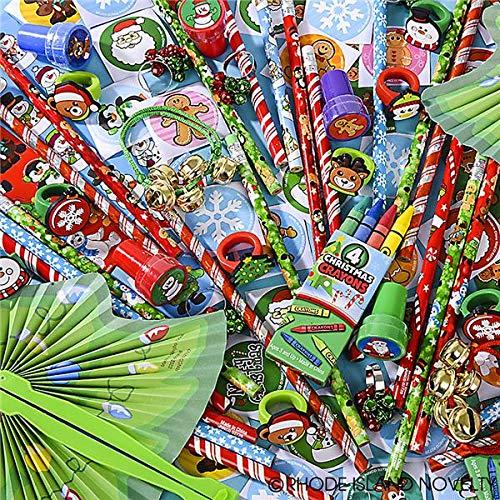 Rhode Island Novelty Christmas Assortment Toys (50 Piece) - Novelty Christmas Stockings
