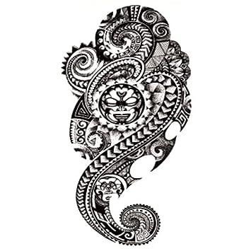 Moda flor brazo tatuaje pegatinas impermeable tatuaje pegatinas ...