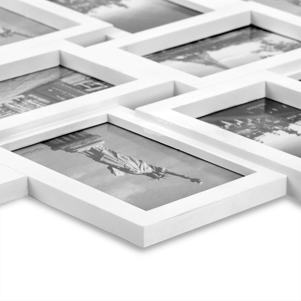 Bilderrahmen Collage Bildergalerie Wandgalerie Fotorahmen für 10 ...