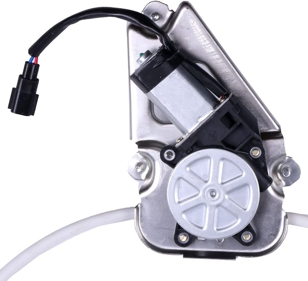ROADFAR Power Window Regulator and Motor Replacement Parts fit for 2006-2007 Jeep Liberty Front Left Drivers Side 4589265AB 4589265AD 748-575