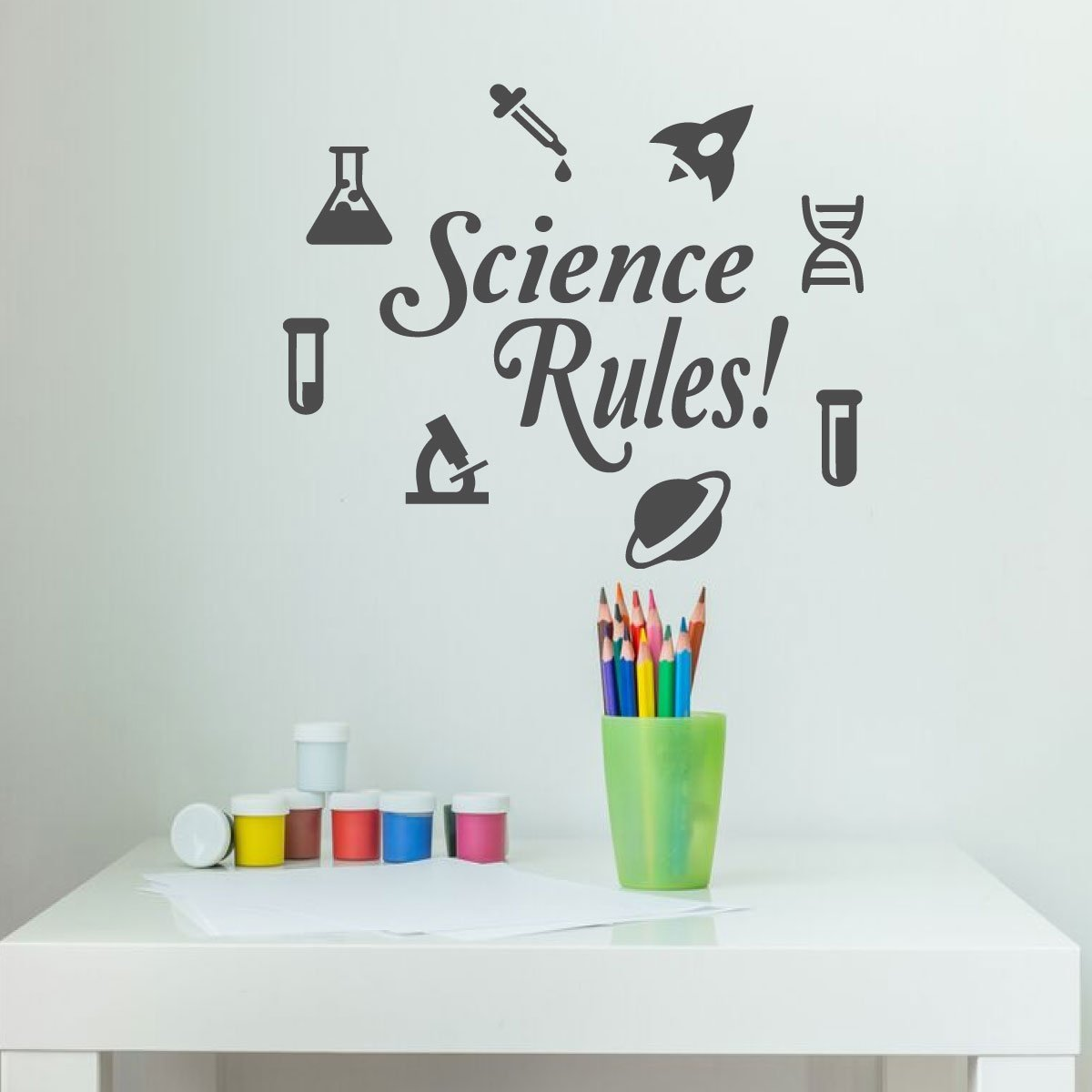 Amazon com science classroom wall decals back to school vinyl decorations for teachers and students handmade