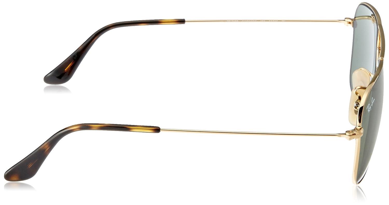 mm Gold Sole 55 Oro Adulto Ray Ban Unisex Occhiali da 3136 RB xxzPXqf