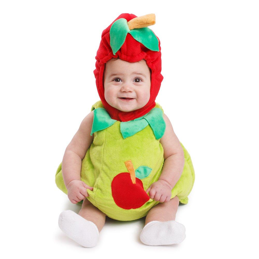 Dress Up America Sugar Sweet Baby Apple Costume by Dress Up America