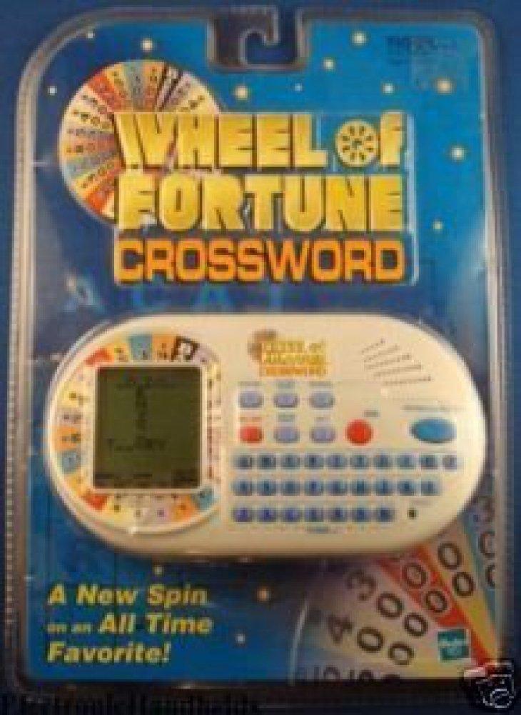 【使い勝手の良い】 [Hasbro]Hasbro Wheel Of Fortune CrossWord Electronic Handheld Toy Game [並行輸入品] B00301MBNK, トウワチョウ e6a48f51