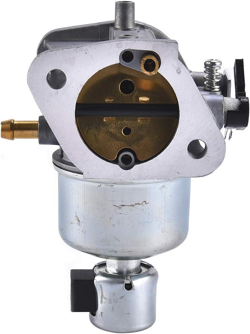 Wingsmoto Carburateur 15004-0829 15004-0985 pour Kawasaki Sadapte Sp/écifique FR691V FS691V Carb Carby 4 cycle Tondeuse /à gazon Tracteur
