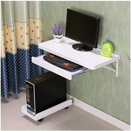 Ymxljf Table D Ordinateur Portable Bureau Simple Bureau D Ordinateur Mural Table Murale Amazon Fr Cuisine Maison