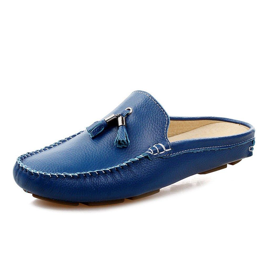 Zapatos Casuales Zapatos de Guisantes con Flecos Zapatos de Hombres Respirables 39 1/3 EU|Azul