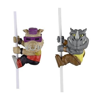 Amazon.com: NECA Scalers Bebop y Rocksteady caracteres ...