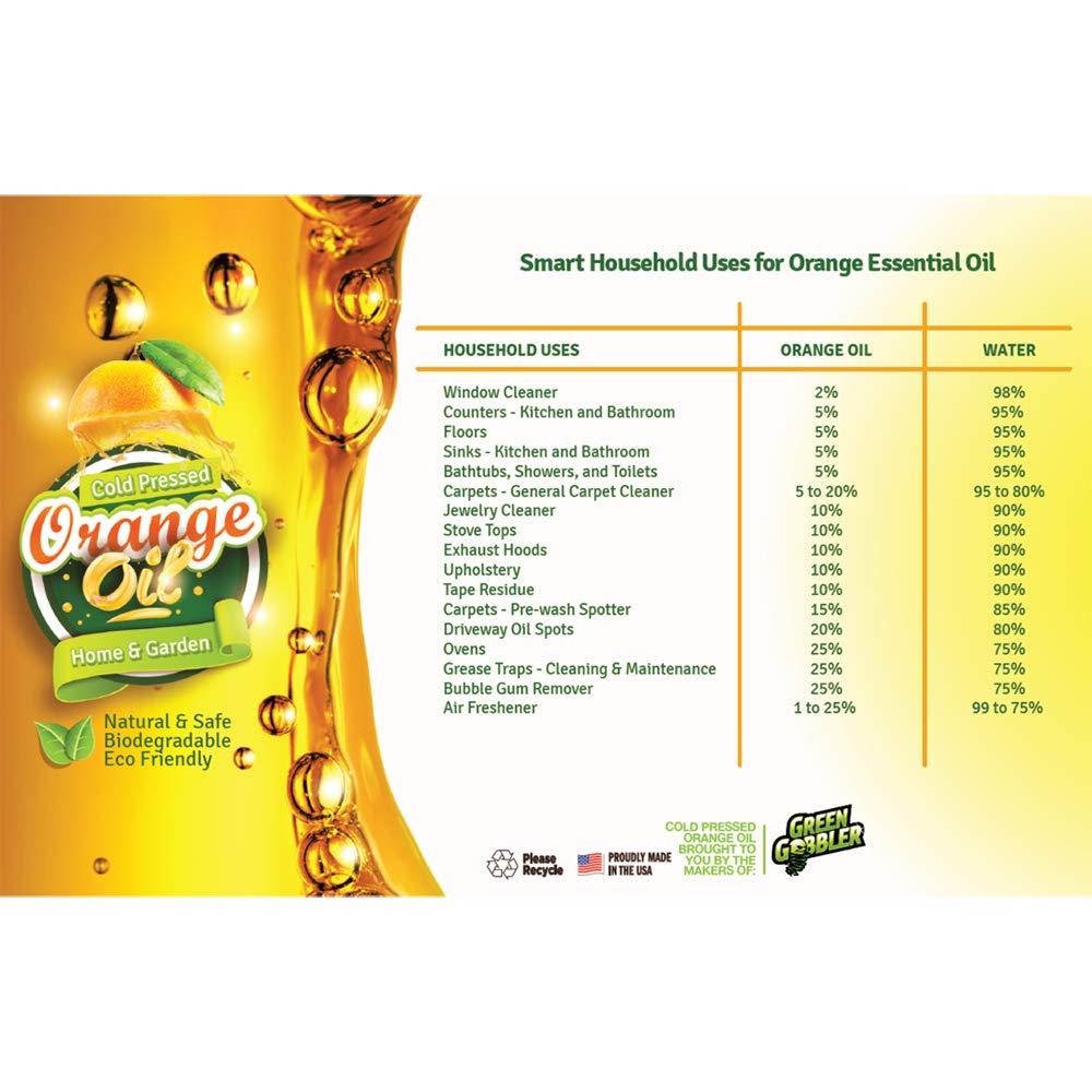 Green Gobbler All Natural Orange Oil Concentrate - 22.5 oz (D-Limonene) by Green Gobbler (Image #8)