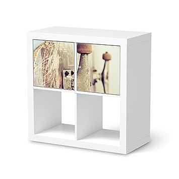 Creatisto Möbel Folie Für IKEA Expedit Regal 2 Türen Quer | Muster  Dekorfolien Möbel