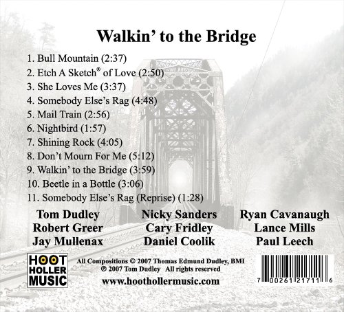 Tom Dudley - Walkin' to the Bridge - Amazon com Music