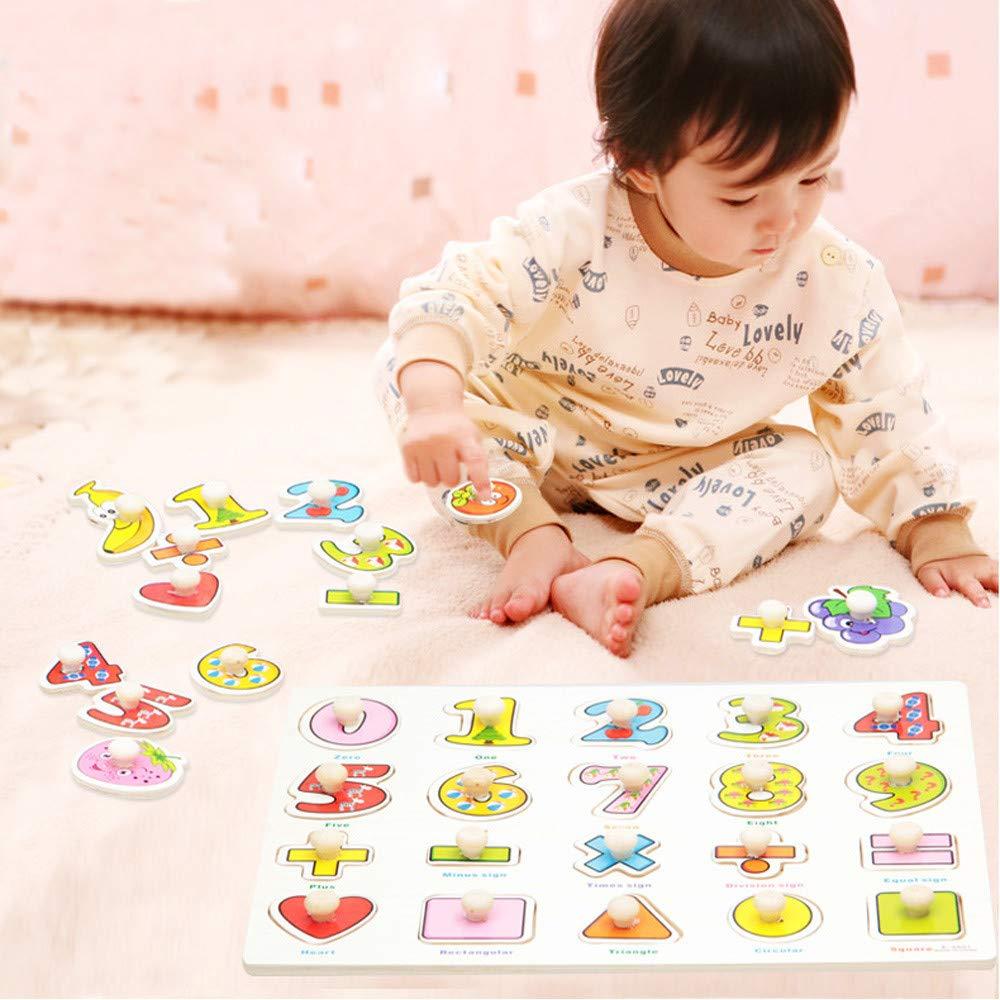 Amazon.com: ERLOU Juguete educativo para bebé niño niña ...