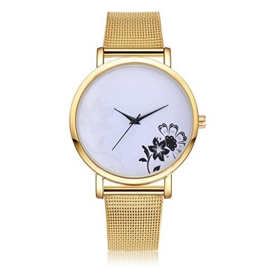 Reloj de cuarzo para mujer Wollways Relojes de mujer esfera grande analógica reloj de pulsera de