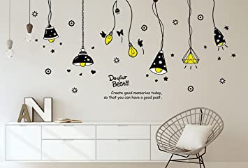 Solimo Wall Sticker For Living Room (Light On!, Ideal Size On Wall: Part 43
