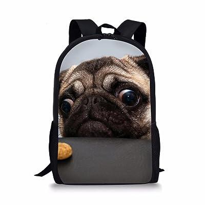 Coloranimal Zoo 3D Animal Printing Backpack for Children Kids School Book Bags