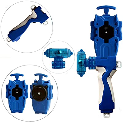StormGyro Battling Battle String Launcher and Launcher Grip with Weight Damper Set(Blue): Toys & Games