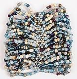 Curious Designs Cuff Bracelet -''South Beach'' Theme - Beaded Stretch Style