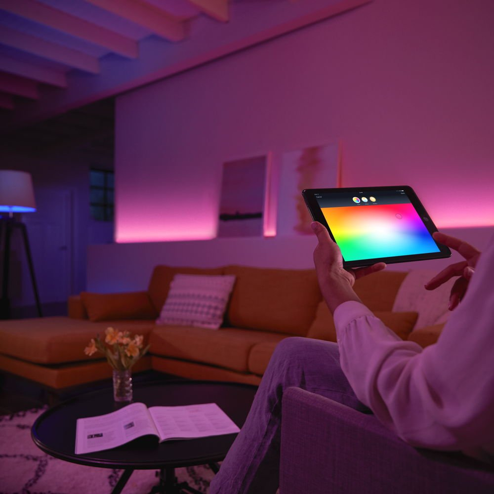 dimmbar bis Philips Hue White /& Color Ambiance GU10 LED Lampe Erweiterung