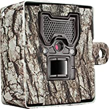 Bushnell 119855C Trophy Cam Wireless Game Camera Security Box with Tree Bark