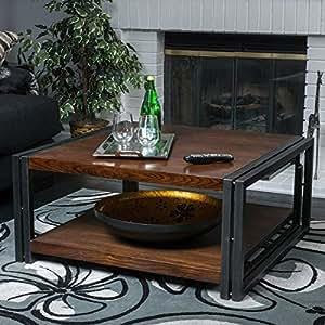 Contemporary modern mayfair dark oak wood for Coffee tables 36 wide