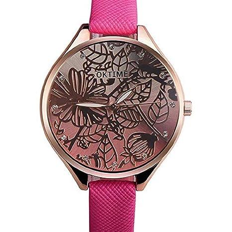 Amazon.com: Windoson Mujeres Relojes de cuarzo Clearance 3D ...
