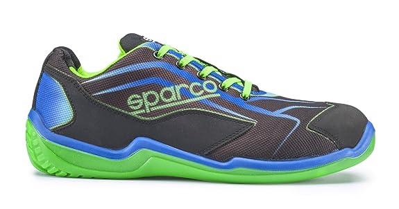 New Sparco 2015 16 S1P - Zapatos de seguridad para hombre (tallas 40 ... f22dc3d6109