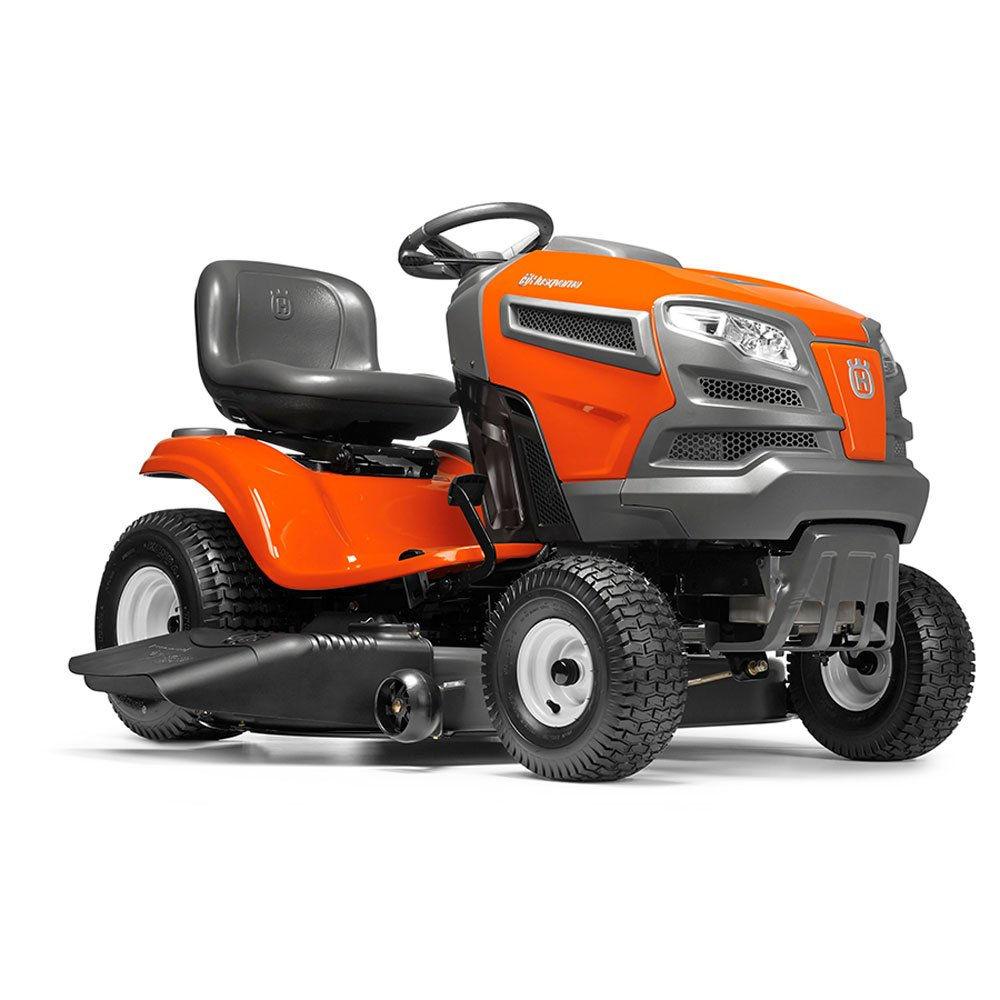 Husqvarna's Continuously Variable Transmission Tractor Mower-22V