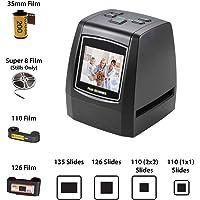 ArmaGedon Scanner de Diapositives de Film Haute résolution de 14 mégapixels, convertit des Films 35 mm, 126/12 mm, négatifs Super 8 et des Diapositives au Format JPEG