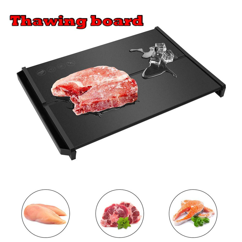 Sinwo Clearance Fast Defrosting Tray Frozen Meat Defrost Food Thawing Plate Safe Board Tool