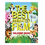 The Best Animated Film Coloring Book: Top 50 Box Office Animated film characters for kids to color in an A4, 52 page book. Includes scenes from Shrek, Frozen, BFG, Jungle Book and many more.