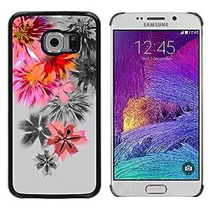 Be Good Phone Accessory // Dura Cáscara cubierta Protectora Caso Carcasa Funda de Protección para Samsung Galaxy S6 EDGE SM-G925 // Dandelion flower